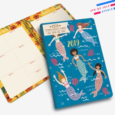 Right on Schedule: 2018-2019 Planners from $10