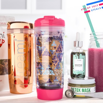 Teami Blends Detox Teas & Supplements Up to 50% Off