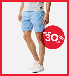 SHOP SHORTS UP TO 30% OFF