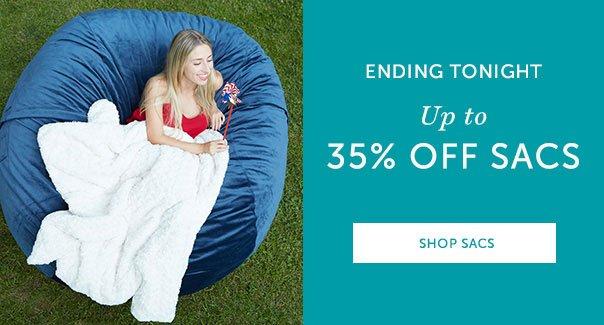 ENDING TONIGHT - Up to 25% off Sacs | SHOP SACS >>