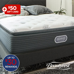 $749 Beautyrest Snowhaven pillow top queen mattress set after coupon* $881.18 reg. $2200