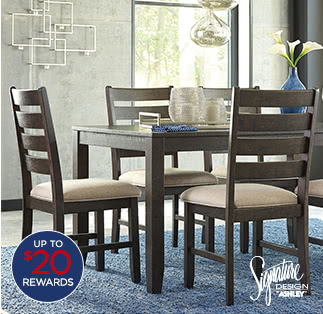 $499 Signature Design by Ashley Linwood 7-pc. select dining sets after coupon* $587.06 reg. $1600
