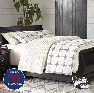 $299 Signature Design by Ashley Guthrie twin/queen bed after coupon* $351.77 reg. $700-$1100