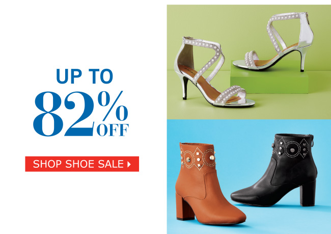 Shop Clearance Shoes & Accessories