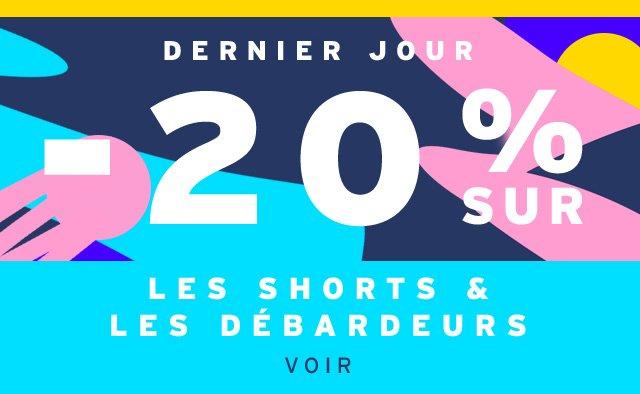 -20% Sur Les Shorts & Les Debardeurs - Voir