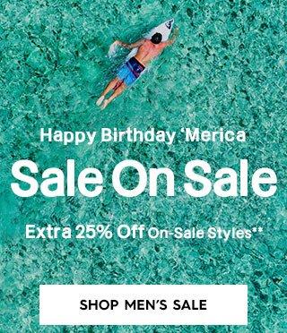 Hero CTA 1 - Shop Men's Sale