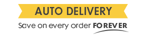 Auto Delivery Save on every order FOREVER