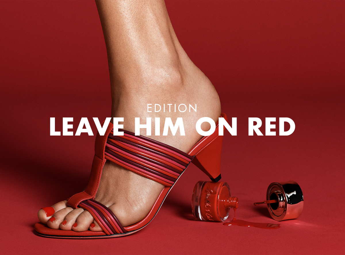 Leave Him On Red Edition