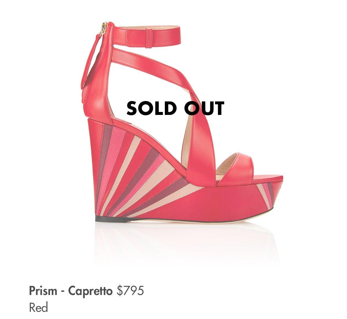 Prism - Capretto Red