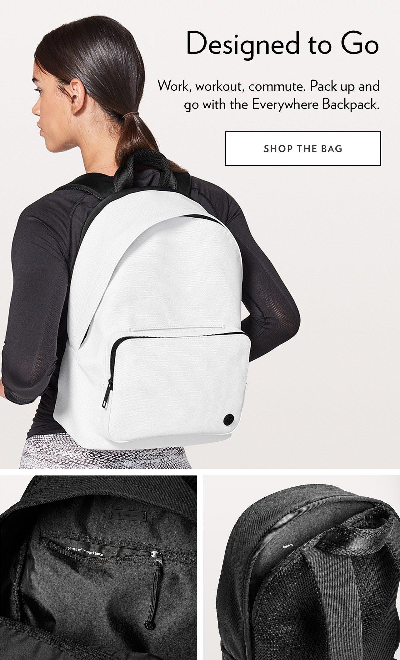 Designed to Go - SHOP THE BAG
