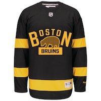 Boston Bruins Reebok Alternate Premier Jersey - Black