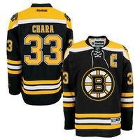 Zdeno Chara Boston Bruins Reebok Men's Home Premier Jersey - Black