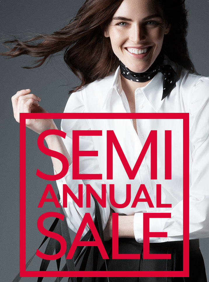 Semi Annual Sale. Up to 70% off original prices.