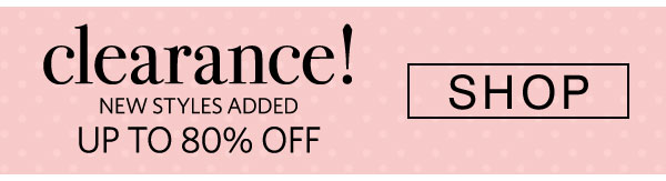 Shop Clearance - Turn on your images