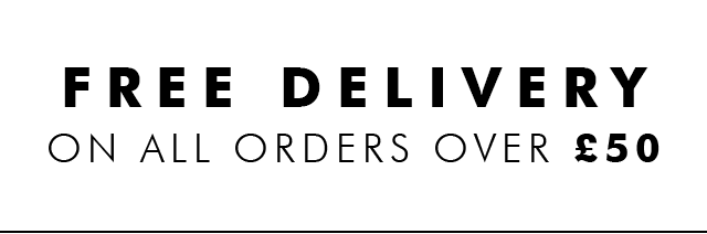 FREE DELIVERY ON ORDERS OVER 50