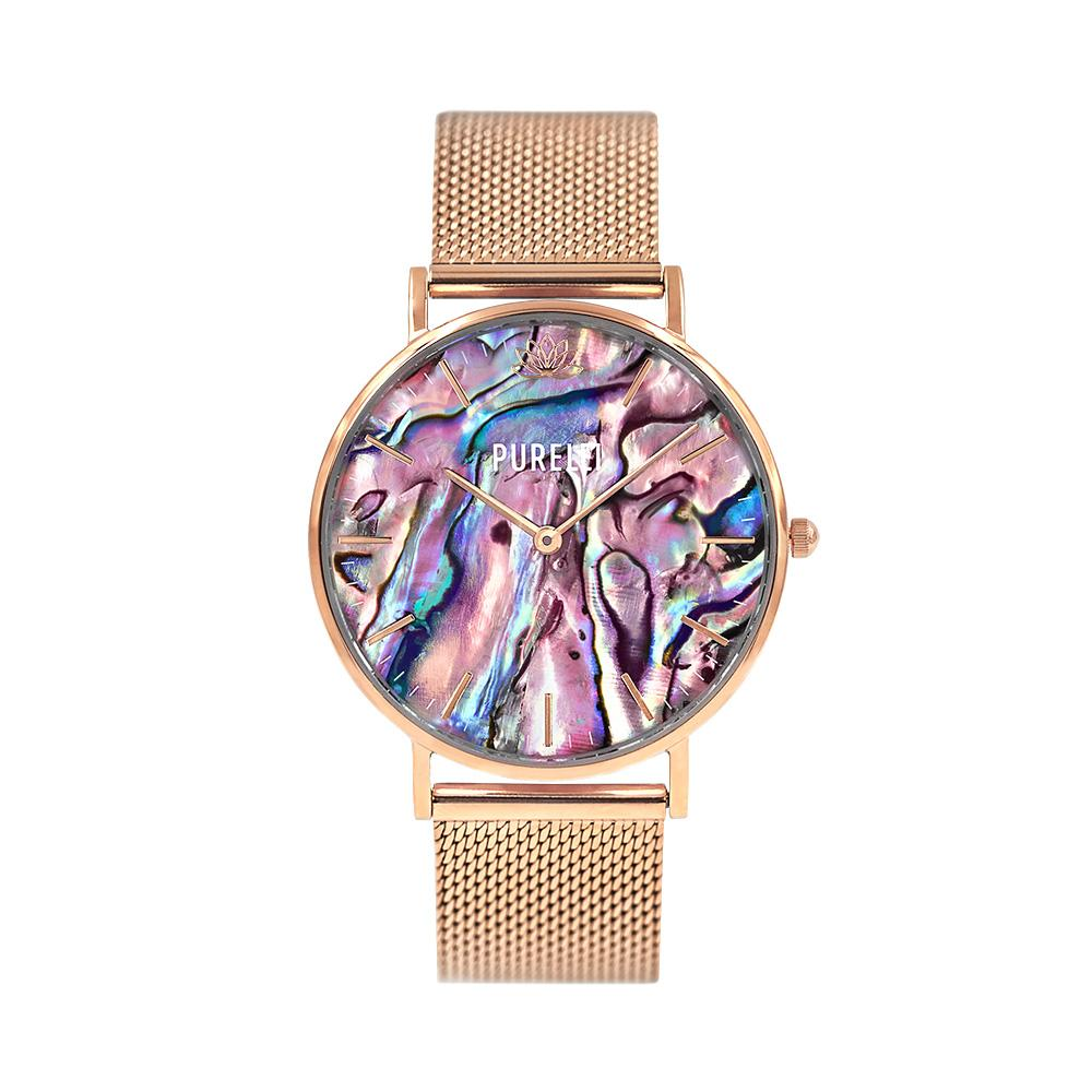 Image of Abalone Rose Gold Mesh