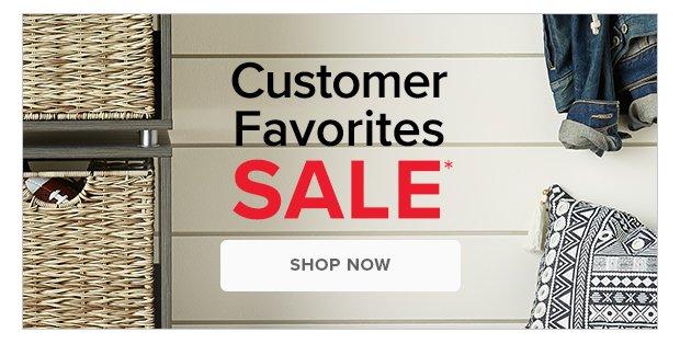 Customer Favorites SALE* >