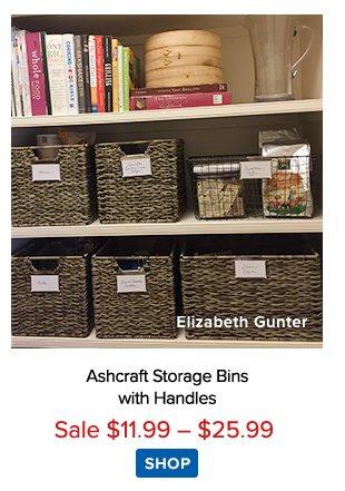 Ashcraft Storage Bins