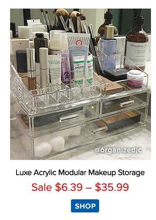 Luxe Acrylic Modular Storage