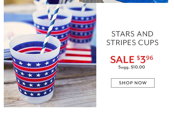 Stars and Stripes cup