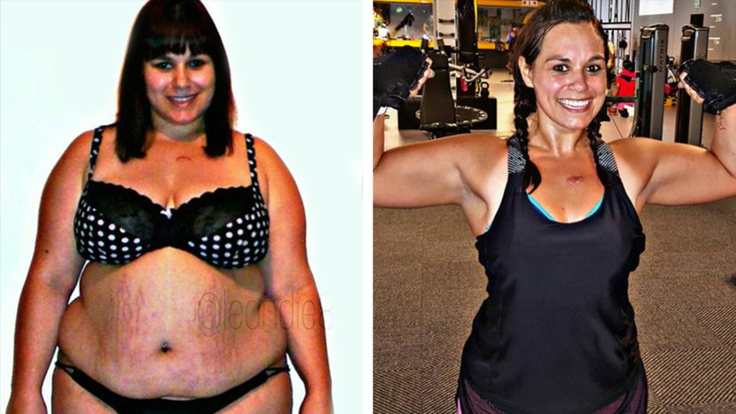 An Uncomfortable Flight Motivated Leandie To Lose 100 Pounds