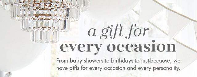a gift for every occasion