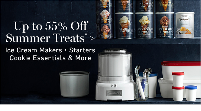 Up to 55% Off Summer Treats*