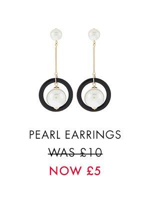 BLARE PEARL EARRINGS