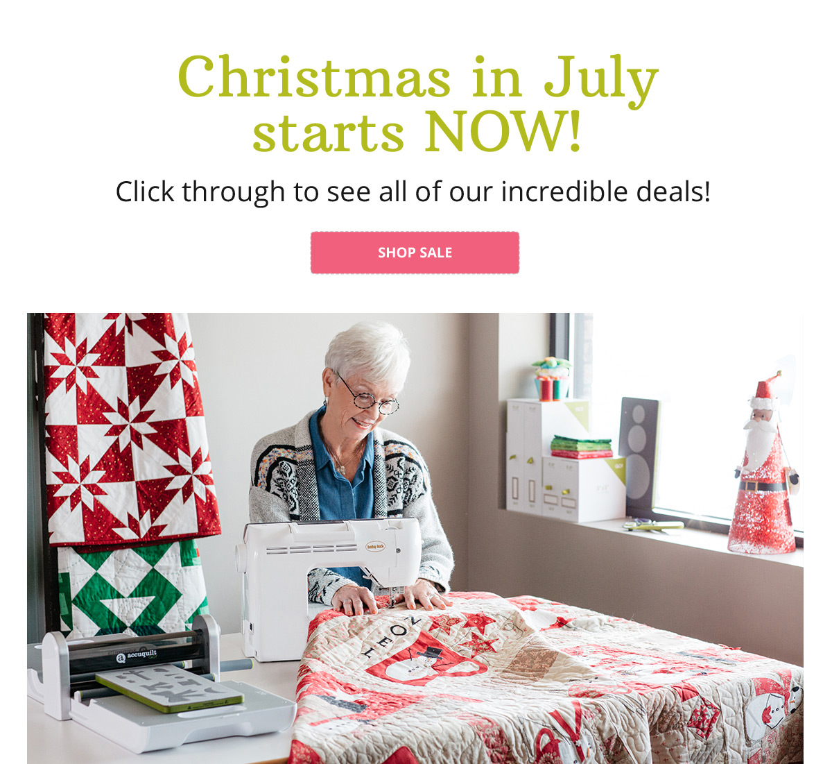 Christmas in July starts NOW!