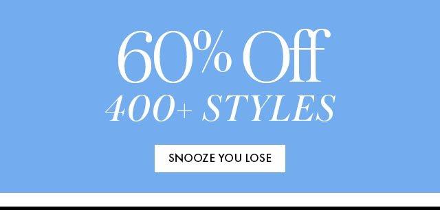 60% Off 400+ Styles BB