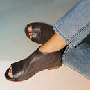 Sandals Casual Comfort Zipper...