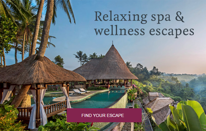 Relaxing spa and wellness escapes