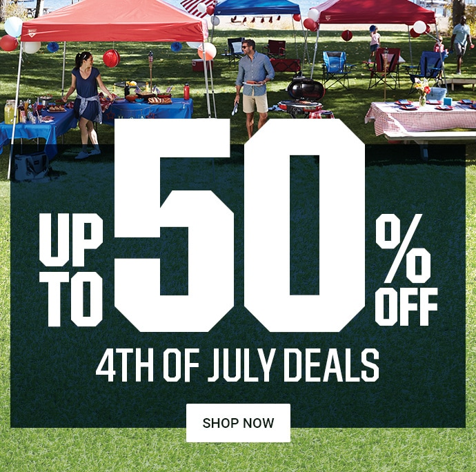 UP TO 50% OFF | 4TH OF JULY DEALS | SHOP NOW