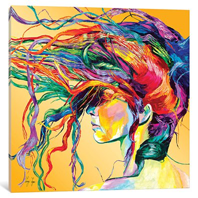 Windswept by Linzi Lynn Canvas Print