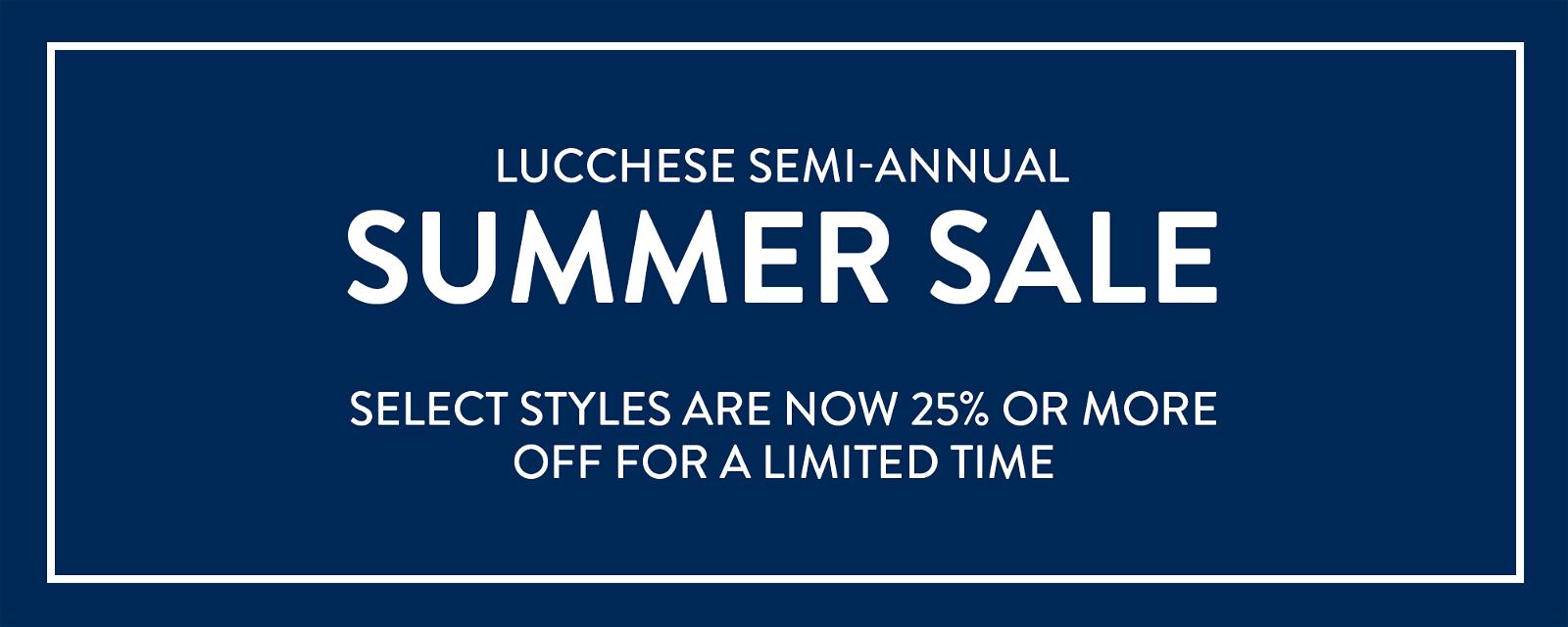 Semi-Annual Summer Sale