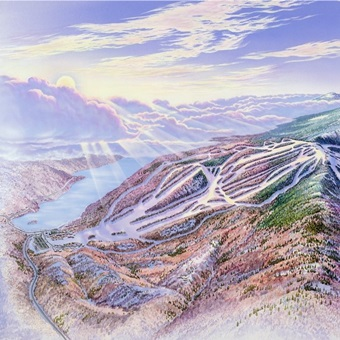 Mont Tremblant by James Niehues