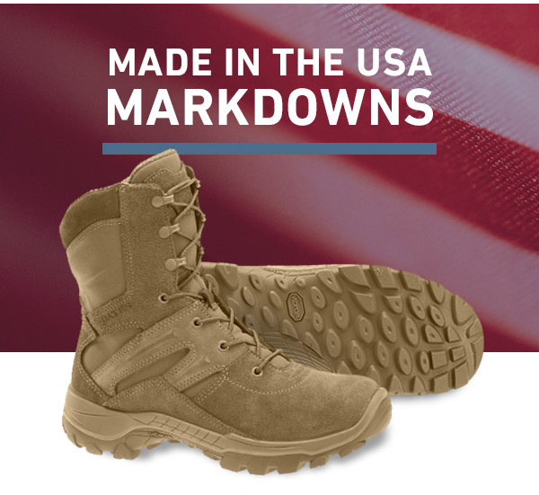 MADE IN THE USA MARKDOWNS