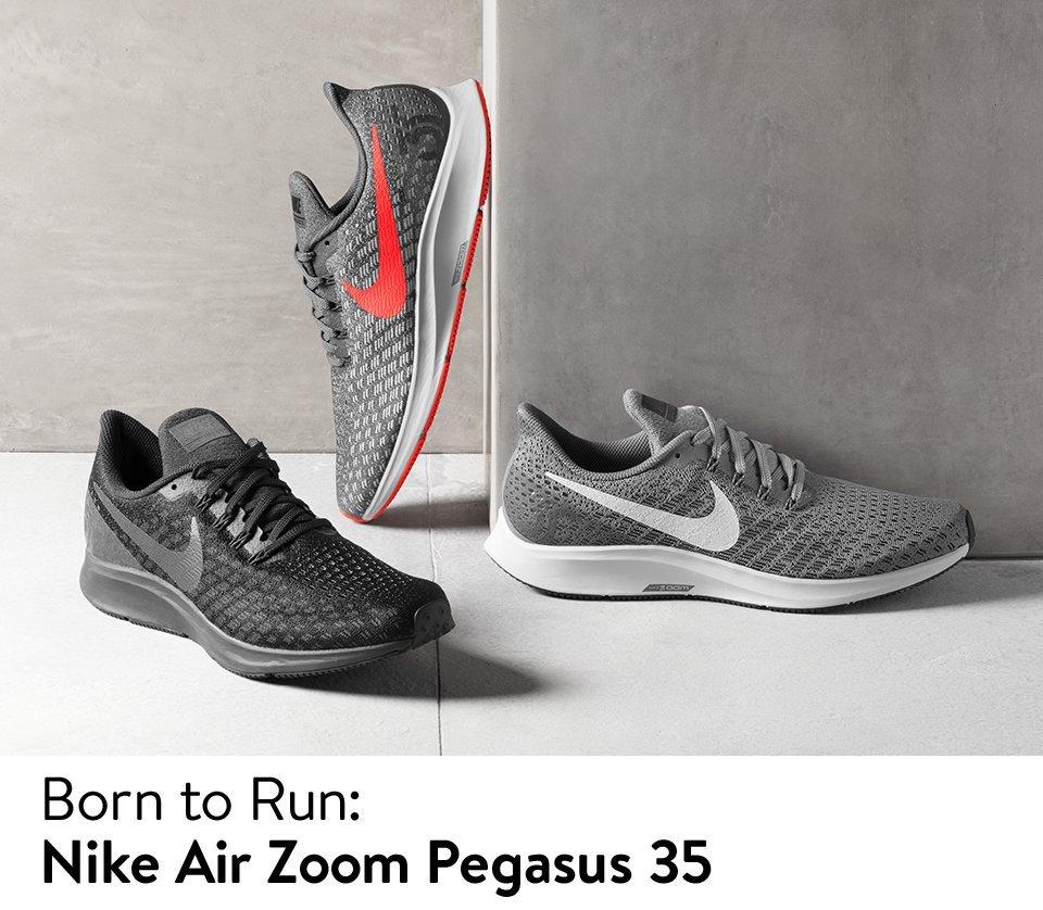 Born to run, the Nike Air Zoom Pegasus 35.