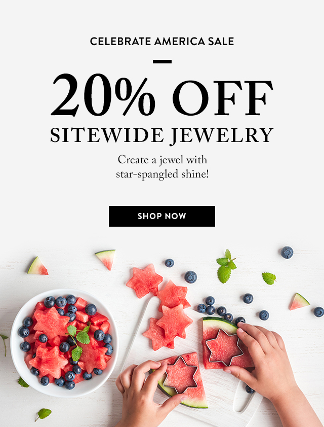 Celebrate America Sale: 20% Off Sitewide now Through Wednesday