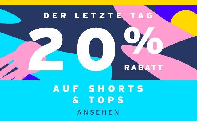 20% Rabatt Auf Shorts & Tops - Ansehen