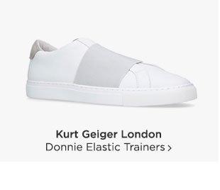 Shop Kurt Geiger London Donnie Trainers