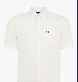 Shop Fred Perry Classic Oxford Shirt