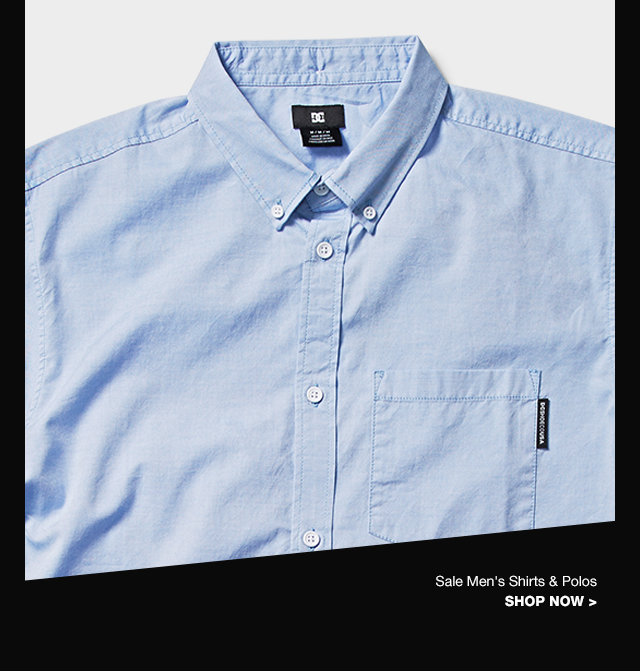 Category 3 - Shop Sale Men's Shirts & Polos