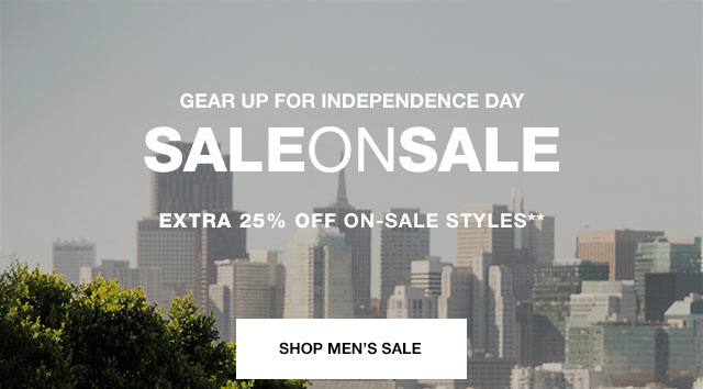 Hero CTA 1 - Shop Men's Sale