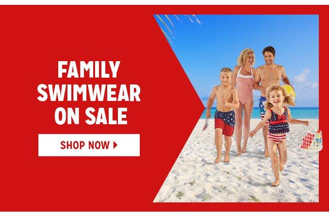 FAMILY SWIMWEAR ON SALE   |   SHOP NOW