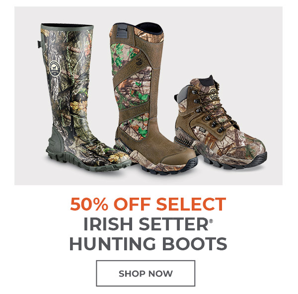 Select Irish Setter Hunting Boots 50% off