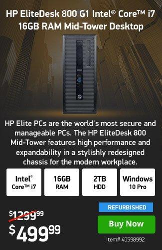 HPI 16GB DDR3 Core i7 <span style='color:#cc0000;'>Pro</span> Desktop|40598992|Shop Now