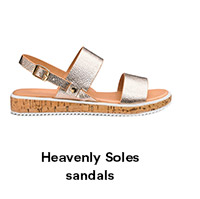 Heavenly Soles sandals