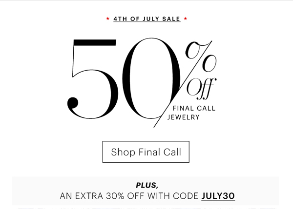 Effy Jewelry July 4th Sale