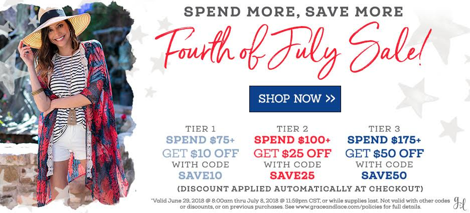 Spend More, Save More | Fourth of July Sale! | Shop Now >